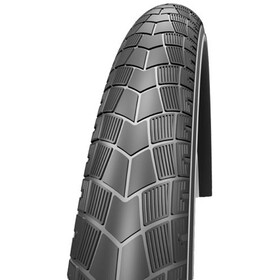 "Impac BigPac PP Wired-on Tire 28"" Reflex black"